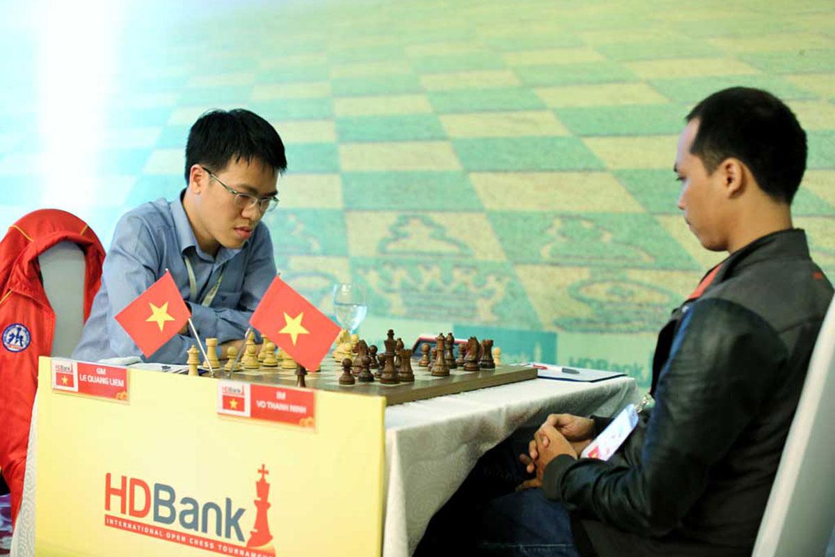 Giải Cờ vua Quốc tế HDBank 2017- Ván 2
