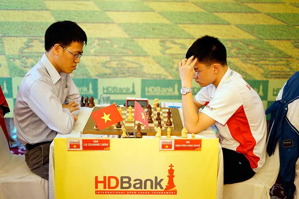 Giải Cờ vua Quốc tế HDBank 2017 - ngày thi đấu thứ 3