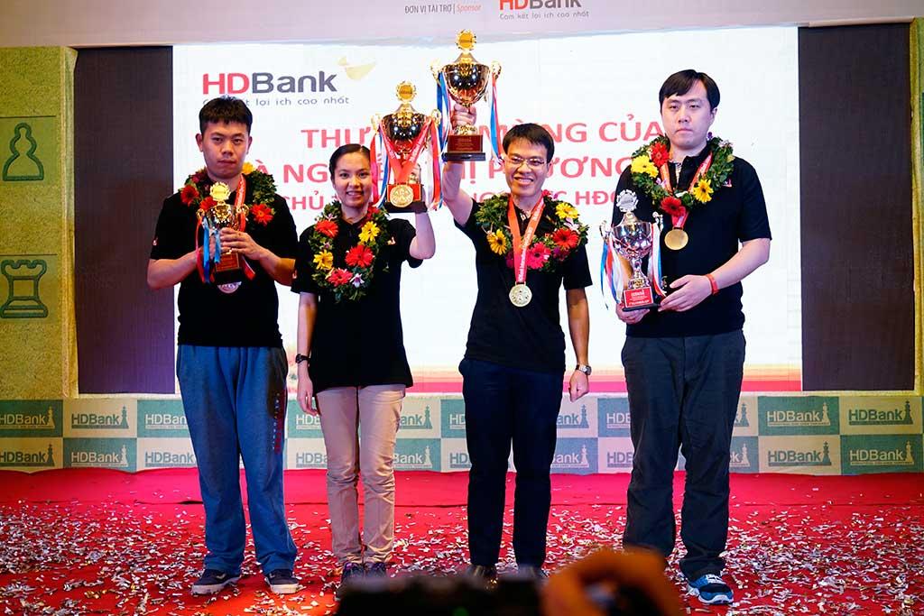Giải Cờ vua Quốc tế HDBank 2017 - ngày thi đấu thứ 5
