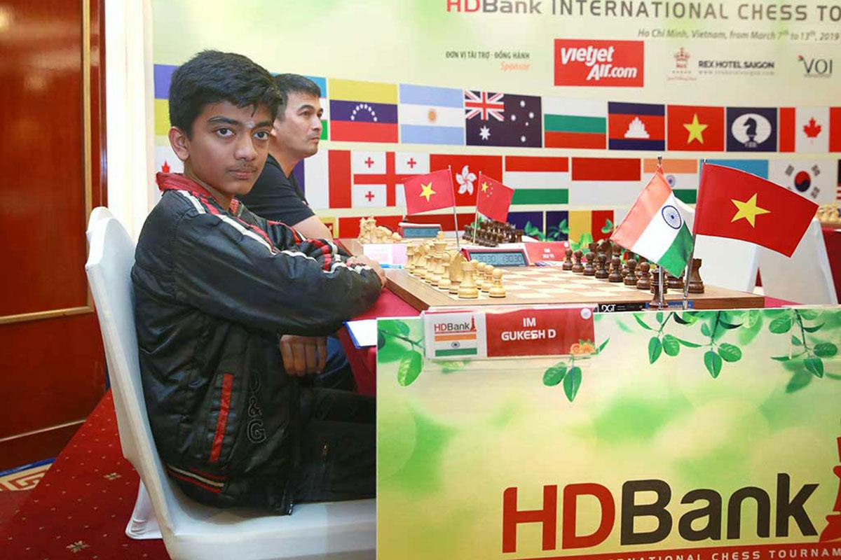 Giải Cờ vua quốc tế HDBank 2019