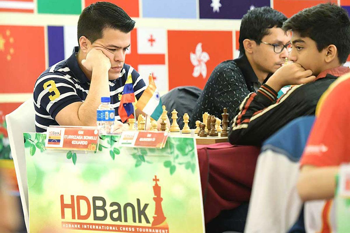 Giải Cờ vua quốc tế HDBank 2019 ván 4